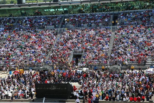 2014 Indianapolis 500 Drivers Meeting