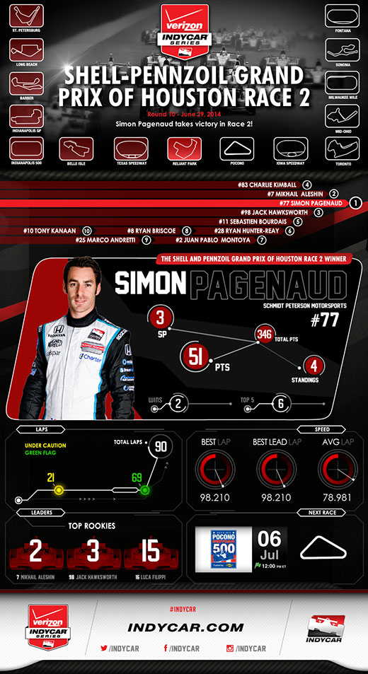 Houston Race 2 Infographic