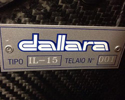 Dallara IL-15 Serial Number