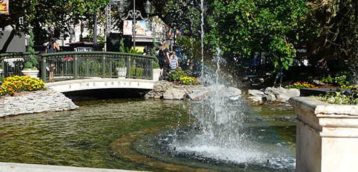 The Grove in Los Angeles