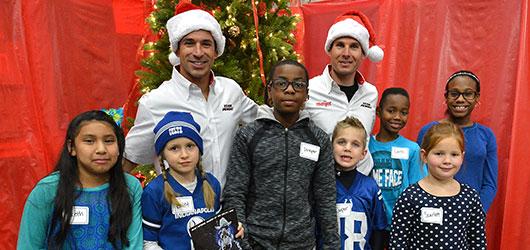Team Penske Christmas Shopping