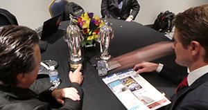 Michael Andretti and Ryan Hunter-Reay