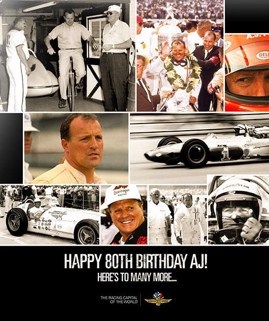 Happy 80th Birthday, A.J. Foyt