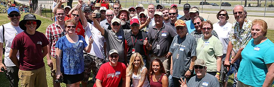 Mario Andretti at Road America