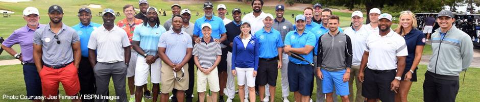 Graham Rahal at the ESPY Golf Outing