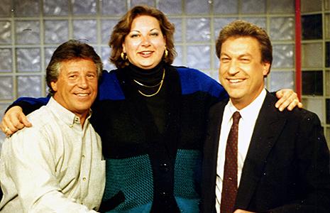 Jenny Nickell, Mario Andretti, and Bob Jenkins