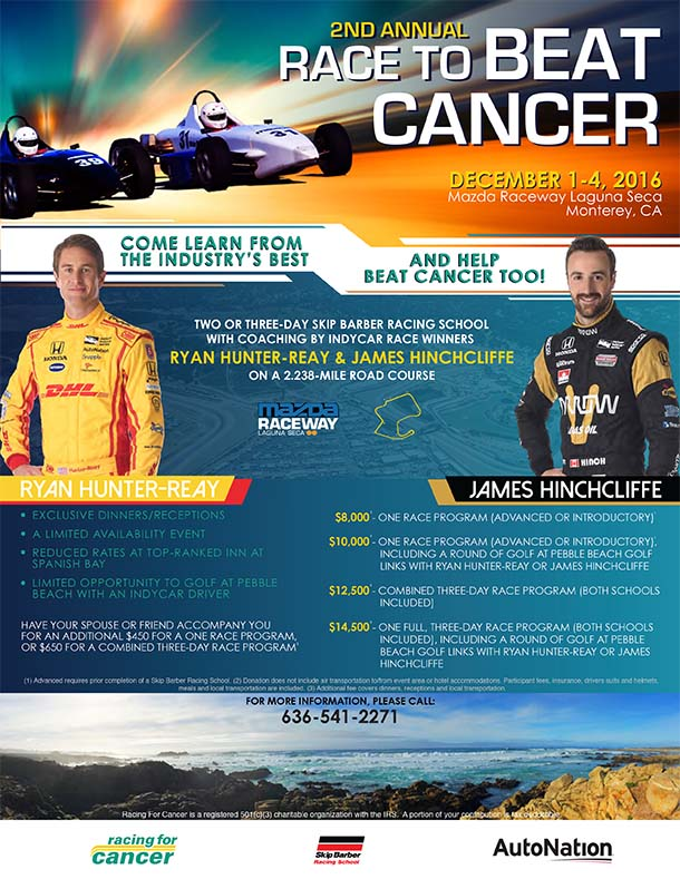 Race To Beat Cancer - December 2016