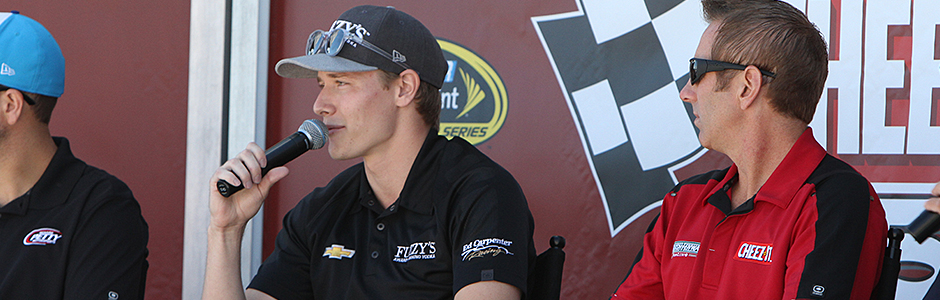 Josef Newgarden and Greg Biffle