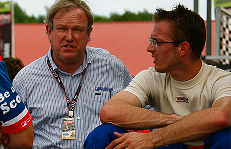 Dale Coyne and Sebastien Bourdais