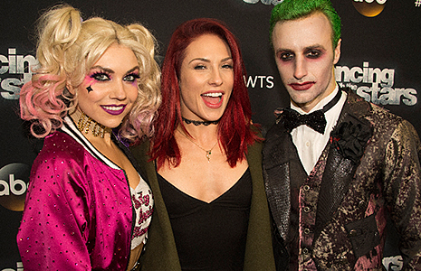 James Hinchcliffe, Jenna Johnson, and Sharna Burgess