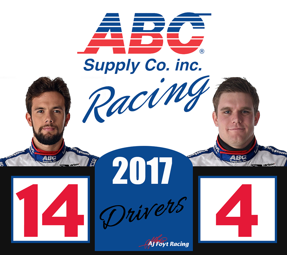 Carlos Munoz and Conor Daly