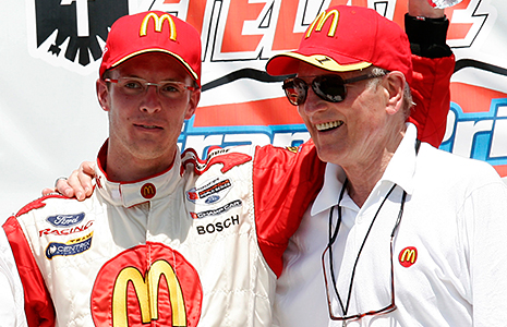 Sebastien Bourdais and Paul Newman