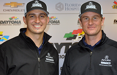 Graham Rahal and Ryan Hunter-Reay