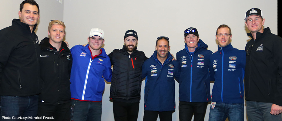2017 INDYCAR Drivers at Rolex 24 at Daytona