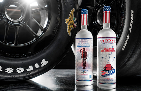 Fuzzy's Vodka 2017 Bottles