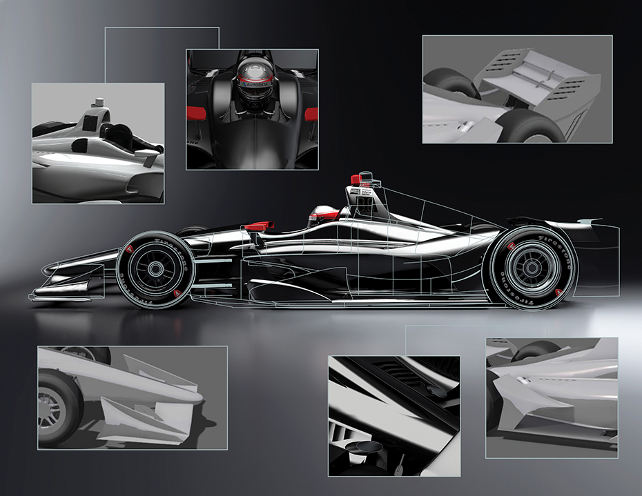 New 2018 Car Rendering - March 2017