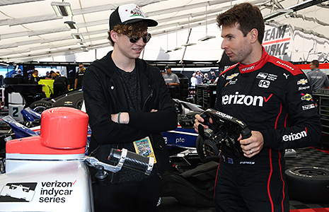 Will Power and Cole Marcus