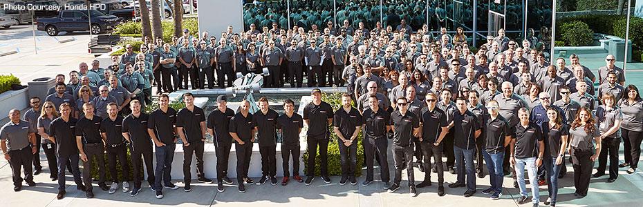 Verizon IndyCar Series Drivers at Honda/HPD