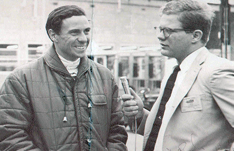 Jim Clark and Paul Page