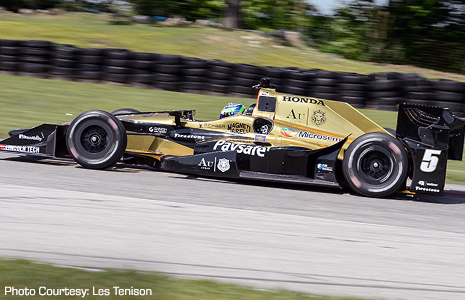 Indy Lights Drivers Get Taste Of Indy Cars At Test And
