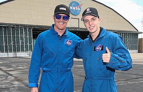 Scott Dixon and Ryan Norman