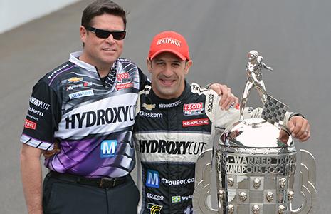 Eric Cowdin and Tony Kanaan