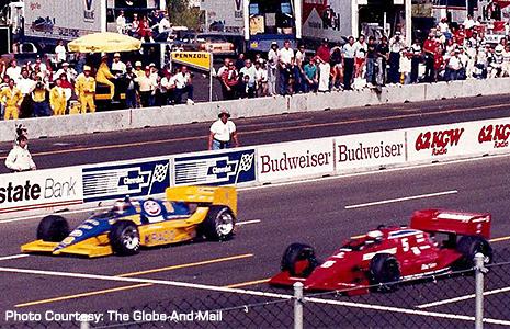 Mario Andretti and Michael Andretti