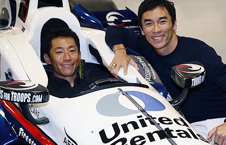 Yoshi Murayo and Takuma Sato