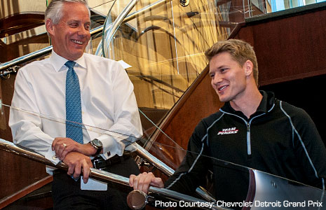 Bud Denker and Josef Newgarden