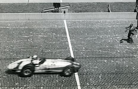 AJ Foyt wins the 1961 Indy 500