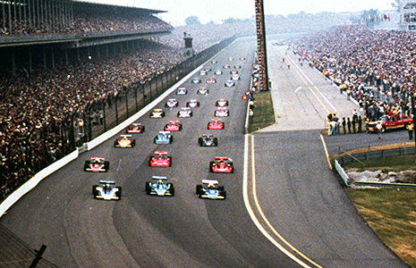 1977 Indianapolis 500 Pace Lap