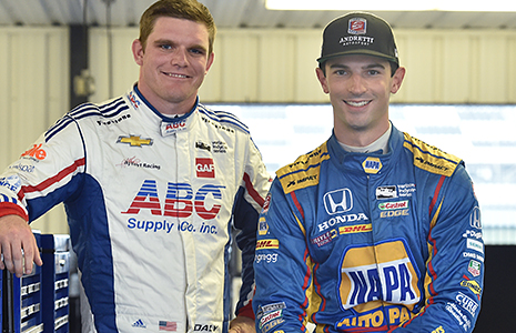 Conor Daly and Alexander Rossi