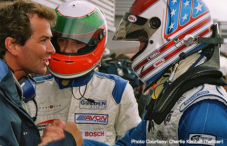 Trevor Carlin and Charlie Kimball