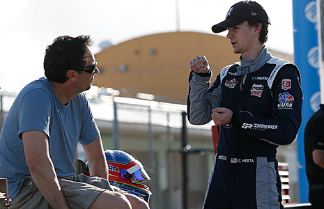 Colton Herta and Bryan Herta