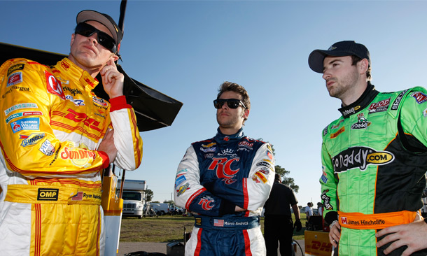 Three Stooges? Andretti Autosport drivers develop dynamic