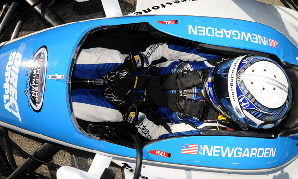 Josef Newgarden at Sebring test