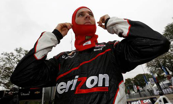 Will Power Wins Pole at Sao Paulo