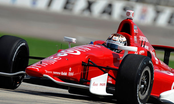 Scott Dixon Testing in Texas