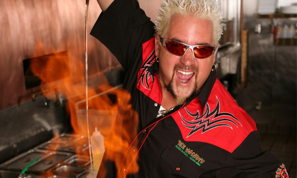 Guy Fieri Named Pace Car Driver