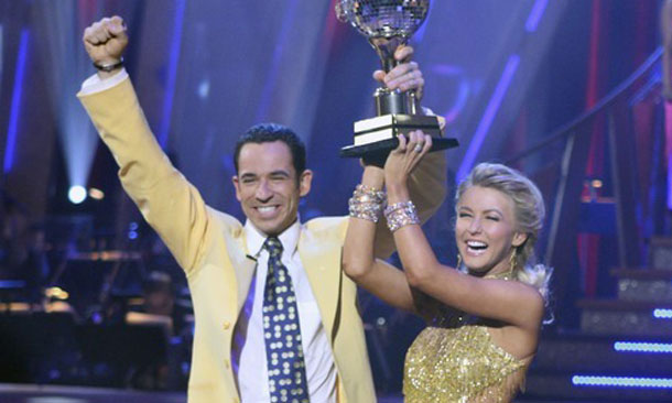Castroneves returns to the dance floor
