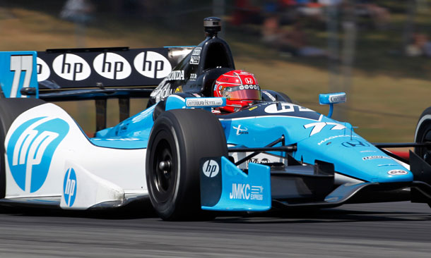 Simon Pagenaud at Mid-Ohio Sports Car Course
