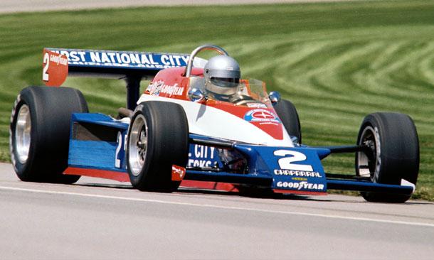 Al Unser in 1978 Triple Crown Winning Car