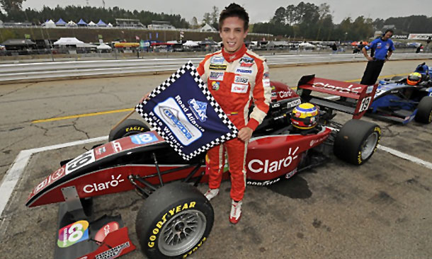 Gabby Chaves wins Star Mazda pole at Road Atlanta