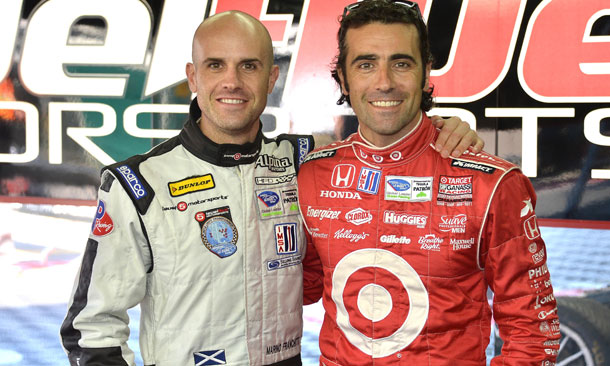 Dario and Marino Franchitti