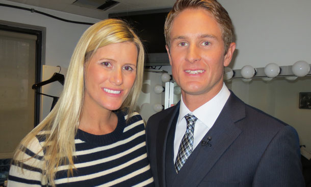 Ryan and Beccy Hunter-Reay
