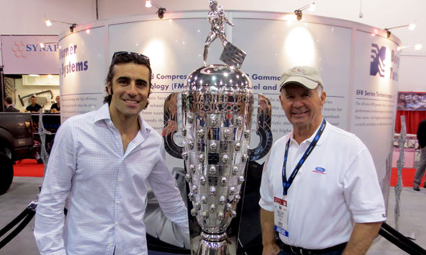 Dario and Parnelli visit SEMA at Las Vegas