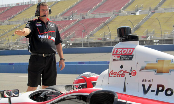Bill Vincent - Crew Chief for Will Power