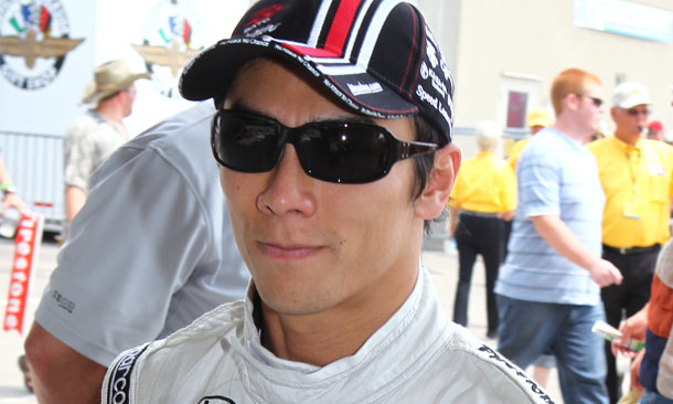 Takuma Sato signs with Foyt