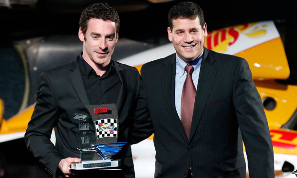 Pagenaud awarded 2012 Rookie Of The Year Trophy