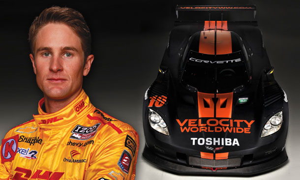 Hunter-Reay to drive in Rolex24